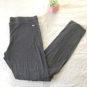Victoria's Secret Pink Leggings Grey Size Medium